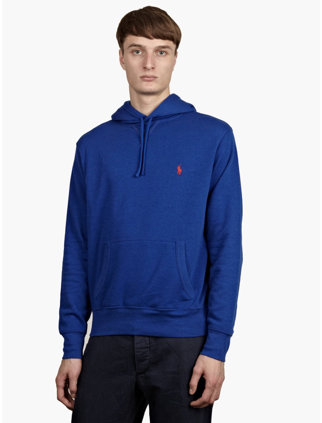 polo ralph lauren mens royal blue hoodie in blue for men lyst. Black Bedroom Furniture Sets. Home Design Ideas