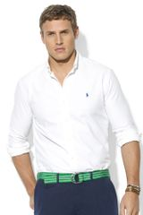 Ralph Lauren Longsleeve Washed Oxford Sport Shirt