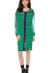 Raquel Allegra Silk Pullover Dress - Lyst