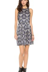 Rebecca Taylor Sleeveless Kaleidoscope Dress - Lyst