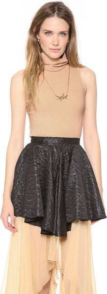 Rodarte Turtleneck Shell Top - Lyst
