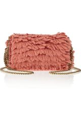 Stella McCartney Falabella Looped Wool Shoulder Bag - Lyst