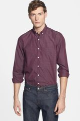 Steven Alan Plaid Sport Shirt - Lyst