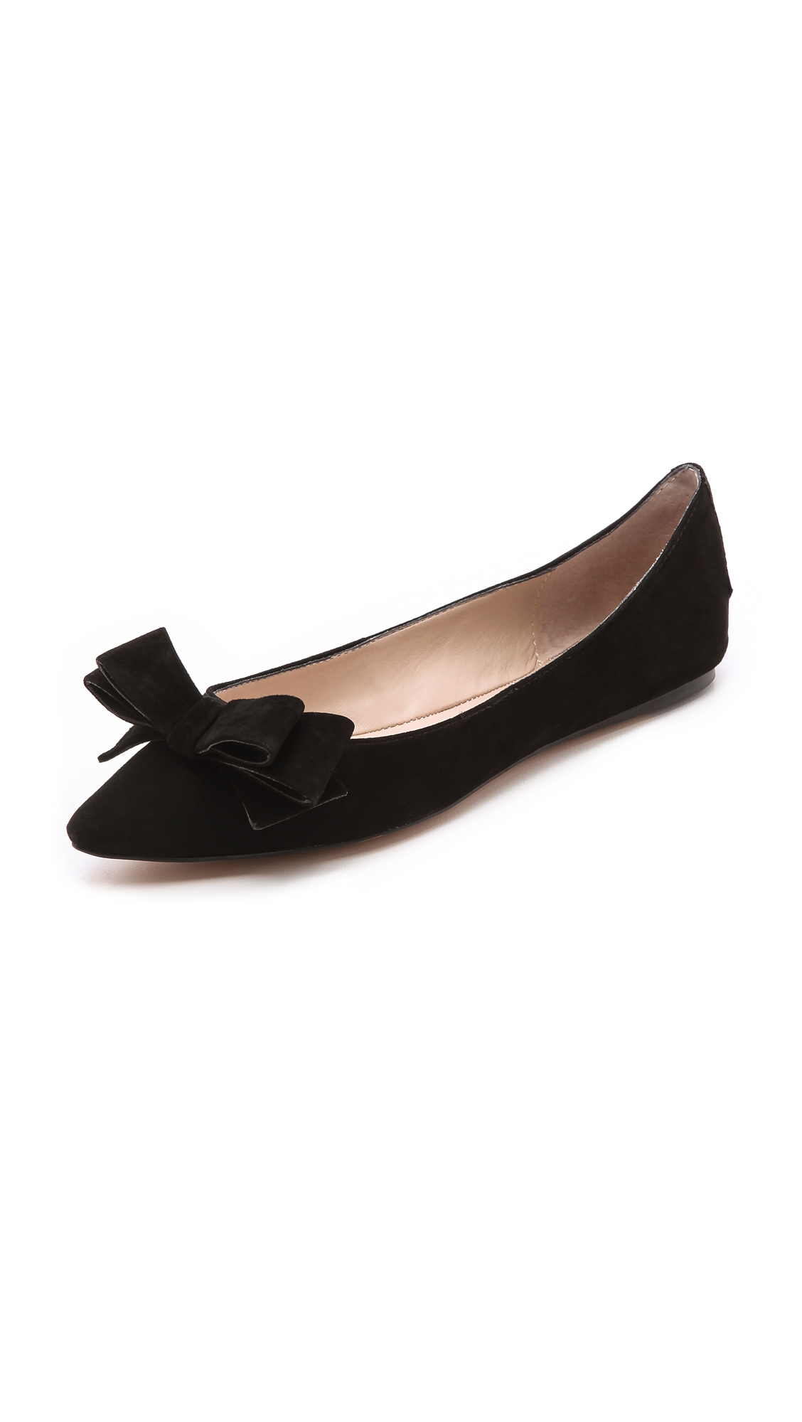 Betsey Johnson Black Bow Shoes