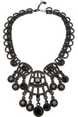 Tory Burch Lace Style Necklace - Lyst