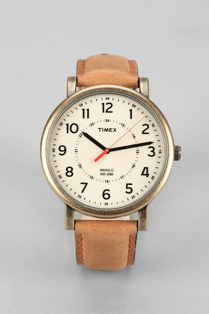 Timex Original Classic Gold Watch In Metallic For Men Lyst