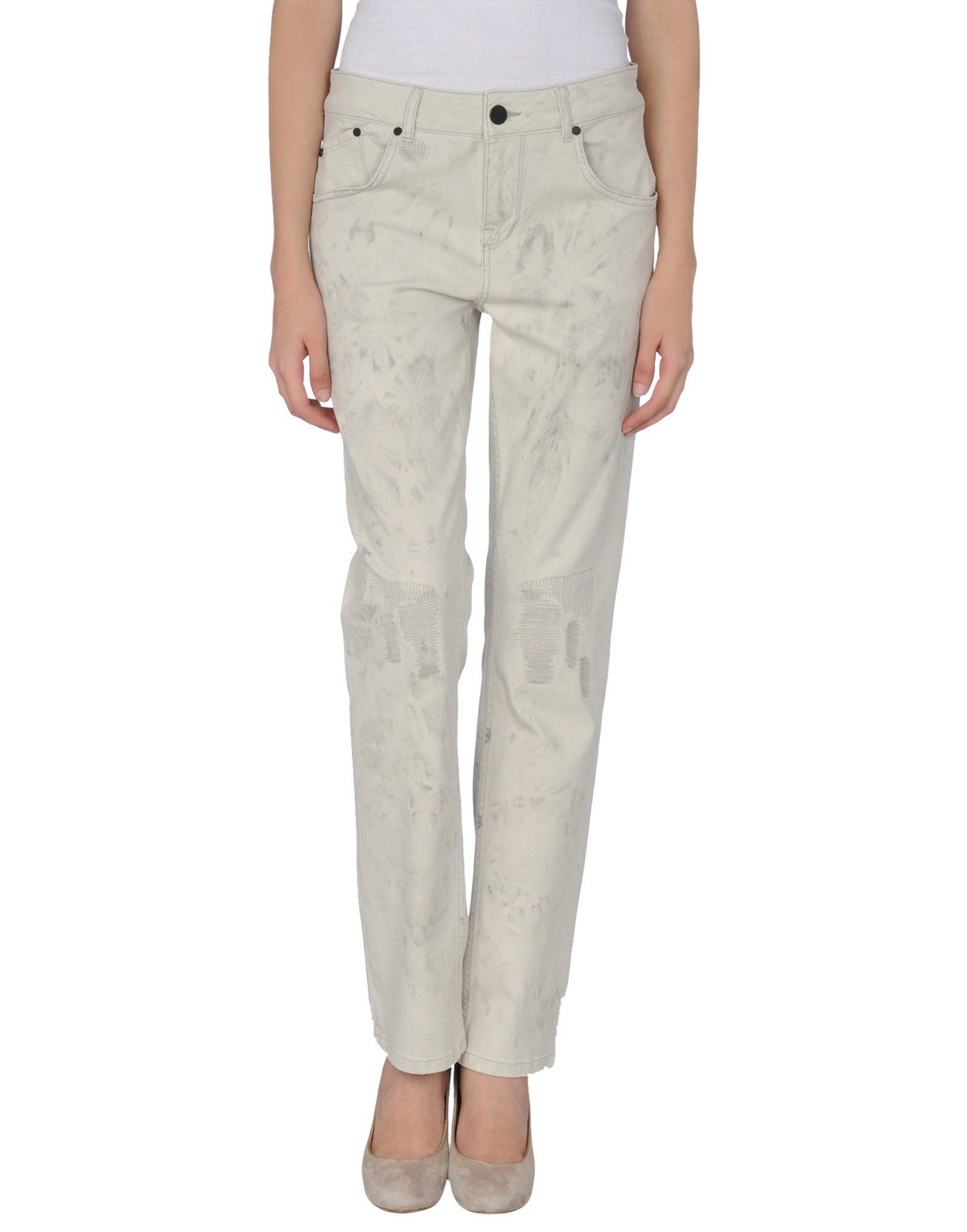 Lyst Victoria Beckham Denim Pants In White