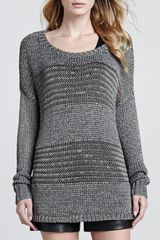 Vince Knit Scoop Neck Sweater - Lyst