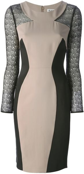 Alice By Temperley Mikiro Fitted Dress - Lyst