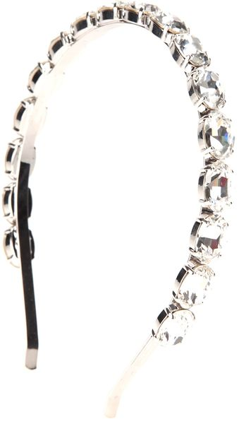 Dolce & Gabbana Crystal Head Band - Lyst