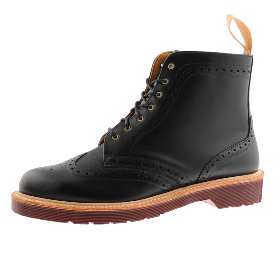 Dr. Martens Bentley Boots In Black For Men