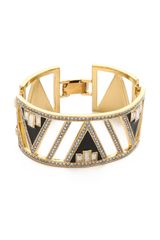 Juicy Couture Open Plate Bracelet - Lyst
