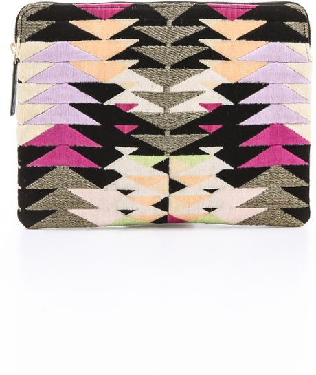 Lizzie Fortunato Safari Clutch in Multicolor (Summer Kaleidoscope) - Lyst