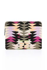 Lizzie Fortunato Safari Clutch - Lyst