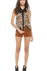 Mink Pink Boot Scooting Shorts - Lyst