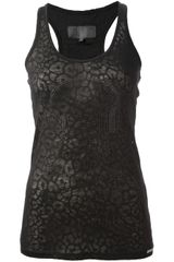 Philipp Plein Diamantã Skull Tank Top - Lyst