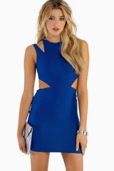 Tobi Yours Truly Cut Out Dress - Lyst