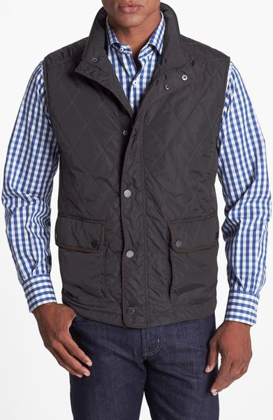 Tommy Bahama Wild Wild Vest in Black for Men