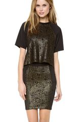 Torn By Ronny Kobo Niva Neoprene Top - Lyst