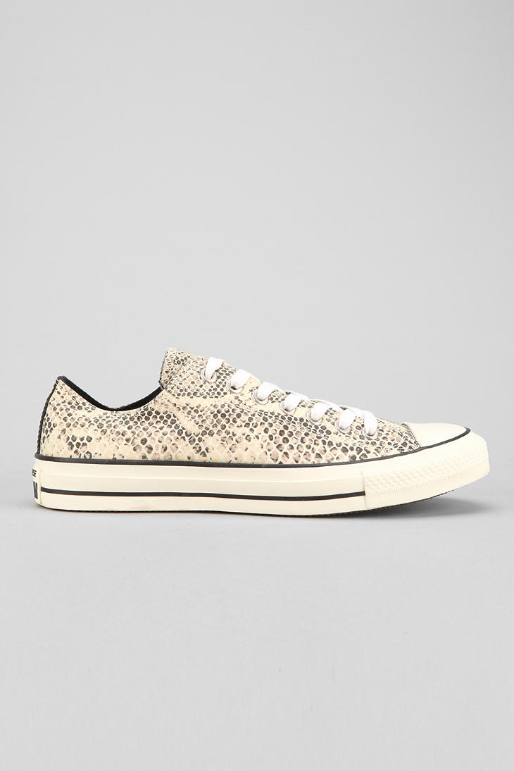 7ab482d3f511 Lyst - Urban Outfitters Converse Chuck Taylor All Star Snakeskin ...