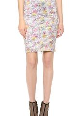 Yigal Azrouel Kaleidoscope Pencil Skirt - Lyst