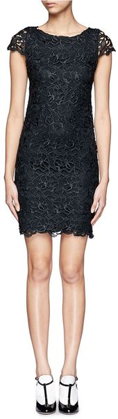 Alice + Olivia Clover Lace Dress - Lyst