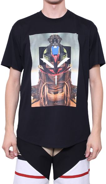Givenchy Printed Cotton Tshirt - Lyst