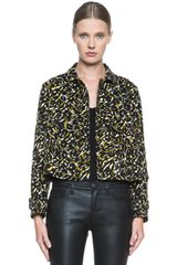M Missoni Camouflage Print Cotton Jacket - Lyst