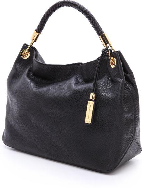 Inexpensive Michael Kors Skorpios Shoulder - Bags Michael Kors Collection Skorpios Large Shoulder Bag Black