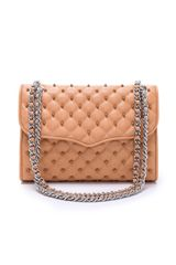 Rebecca Minkoff Quilted Affair with Studs - Lyst