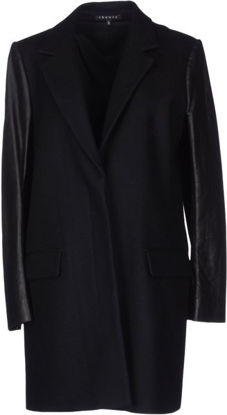 Theory Coat - Lyst