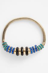 Anne Klein Beaded Stretch Bracelet - Lyst