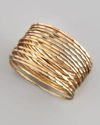 Chamak By Priya Kakkar Set Of 12 Faceted Thin Bangles - Lyst