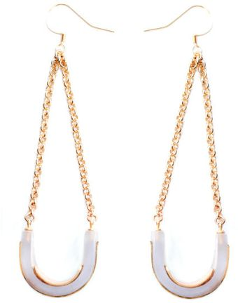 Eaburns Dive Deep Earrings - Lyst