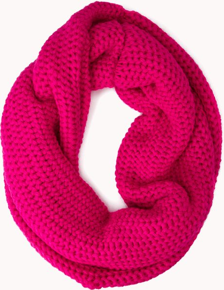 Forever 21 Cold Days Infinity Scarf in Pink (FUCHSIA) Lyst