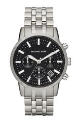 Michael Kors Gray Stainless Steel Scout Chronograph Watch - Lyst