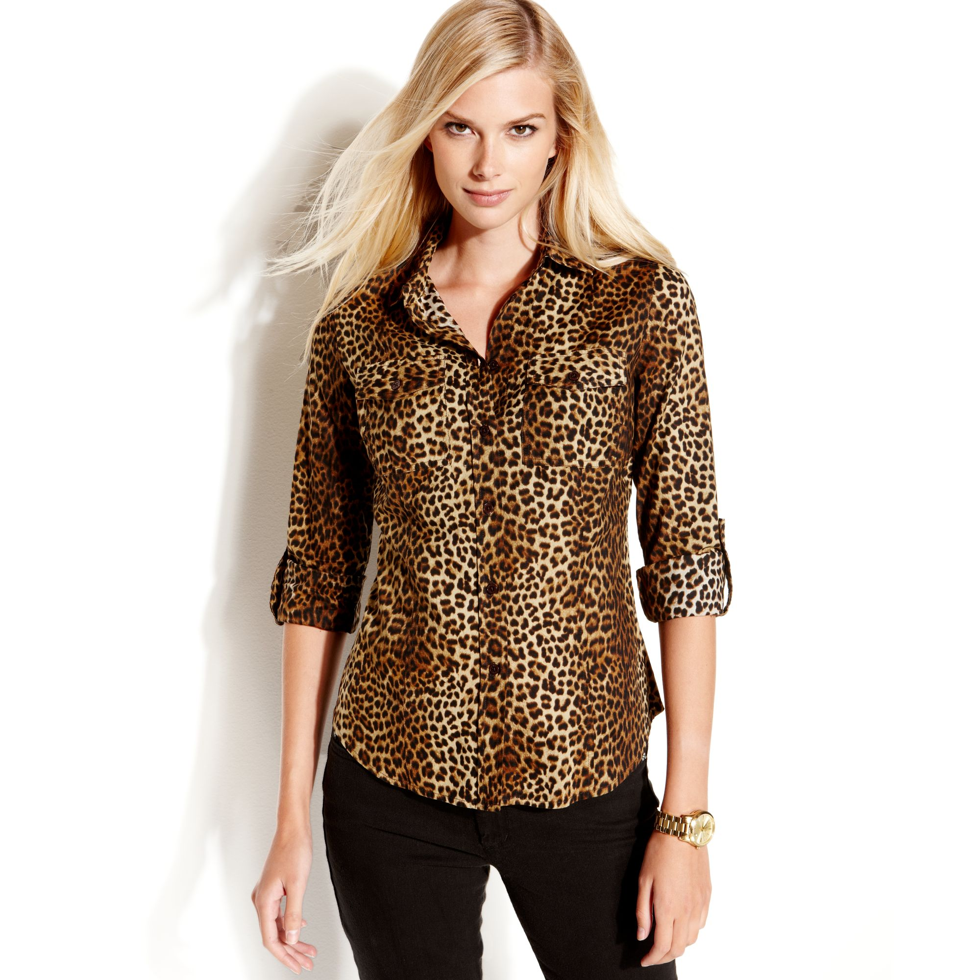 Shop for leopard print blouse at yageimer.ga Free Shipping. Free Returns. All the time.