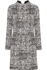 Proenza Schouler Cottonblend Tweed Dress - Lyst