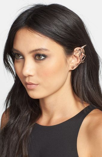 Rodarte Dragon Rose Gold Ear Cuff - Lyst