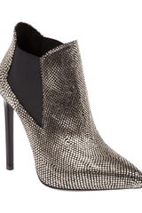 Saint Laurent Classic Paris 110 Ankle Boot - Lyst