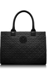 Tory Burch Mini Ella Quilted Tote - Lyst