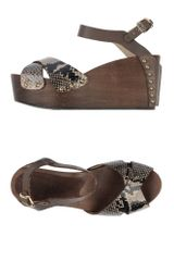 Twin-set Simona Barbieri Wedge - Lyst