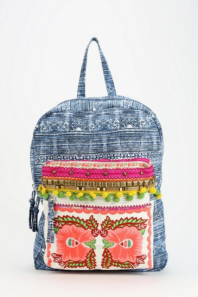 Urban Outfitters Ecote Embellished Backpack in Blue