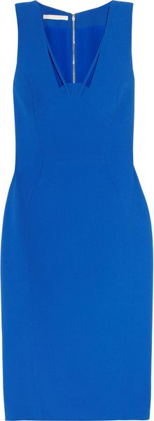 Antonio Berardi Cutout Crepe Dress - Lyst