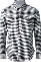 B.d. Baggies Checked Shirt - Lyst
