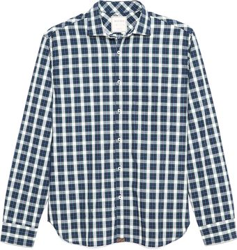 Billy Reid John Plaid Sport Shirt - Lyst