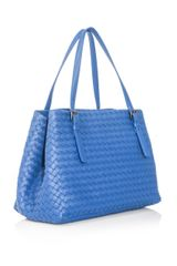 Bottega Veneta Intrecciato Woven Leather Tote - Lyst