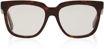 Celine Tortoiseshell Thin Preppy Acetate Glasses - Lyst