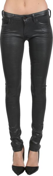 Citizens Of Humanity Racer Skinny Coated Jean - Lyst