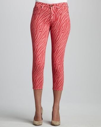 Cj By Cookie Johnson Believe Zebraprint Cropped Leggings - Lyst
